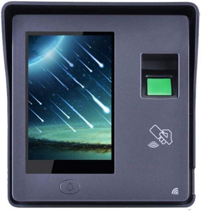 出席マシン ポータブル指紋時間出席クロック出力出席レポートを直接USBフラッシュディスクのダウンロード従業員のチェックインレコーダー 指紋高速認識省電力 (色 : Photo color, Size : Oner size)