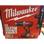 Milwaukee 4933443515–M 18bpd-202C trapano a percussione 18V 2,0Ah litio 2Vel. 50Nm 513UwH1dsHL. SS150