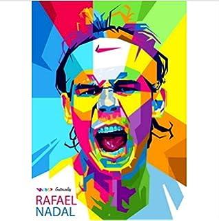 Strange Posters Póster de Rafael Nadal, Multicolor (30,5 x 45,7 cm): Amazon.es: Hogar