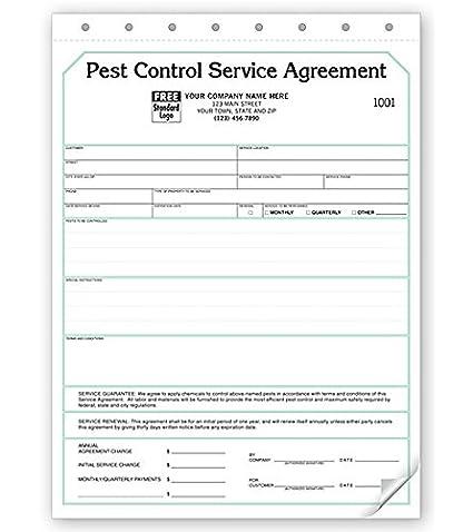 Amazon Pest Control Contract Service Agreement 2 Part