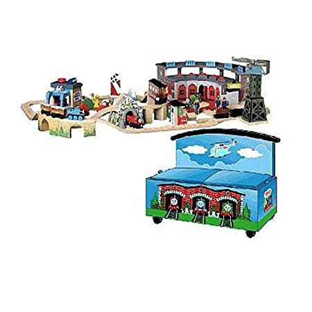 Amazon.com: Thomas & Friends Wooden Railway - Sights & Sounds Set ...