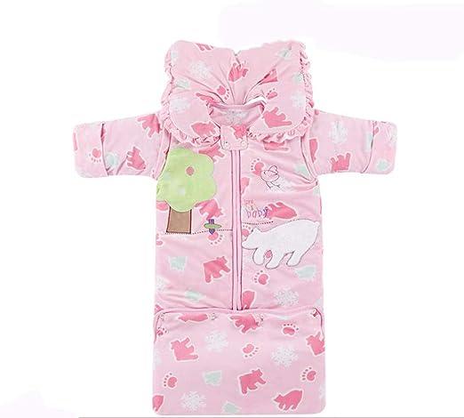 QFYD FDEYL Baby Swaddle Wrap Blanket, Saco de Dormir cálido para ...