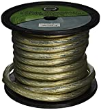Best AmazonBasics Amps For Cars - Scosche X2P65B-200 Power Wire (Black 6.5mm 200ft) Review