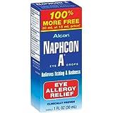 Alcon Naphcon Eye Drops, Allergy Relief 30 ml