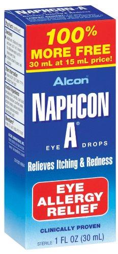 Alcon Naphcon Eye Drops, Allergy Relief 30 (Allergy Relief Eye Drops)