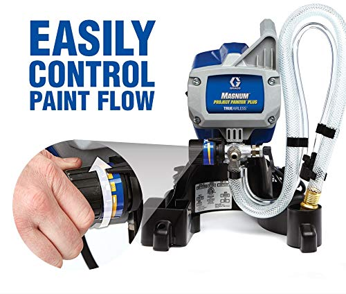 Graco Magnum Project Painter Plus is one of the best convenient airless paint sprayer because of its compact design