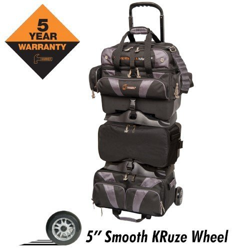 6 Ball Roller Bowling Bag - 5