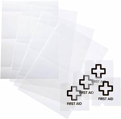 fogli traslucidi microperforati trasparente 40 inserti f.to 105x105 mm confezione da 10 fogli Crystal Sign Refill DURABLE 483019
