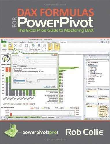 DAX Formulas for PowerPivot: The Excel's Pro Guide to Mastering DAX by Collie, Rob - Formulas Dax