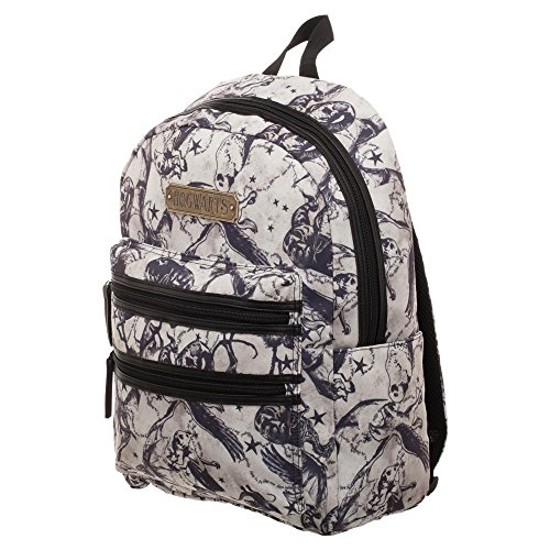 Double Zip Backpack - Harry Potter Beasts Double Zip Backpack - Officially Licensed Harry Potter Backpack