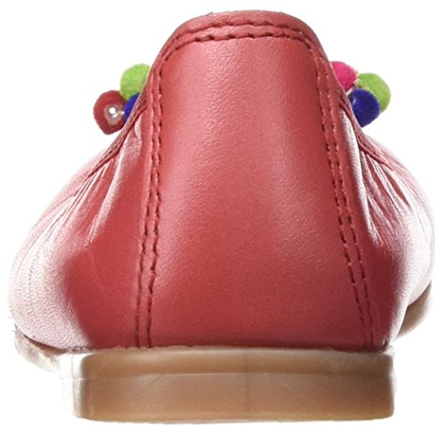 Pablosky Mädchen 318461 Ballerinas mit Geschlossener Spitze Rot