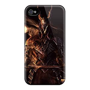 JoanneOickle Iphone 4/4s Protective Cell-phone Hard Covers Customized High Resolution Dark Souls Skin [KJr11897jHEG]