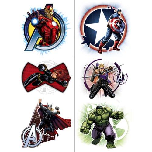 Avengers Temporary Tattoos
