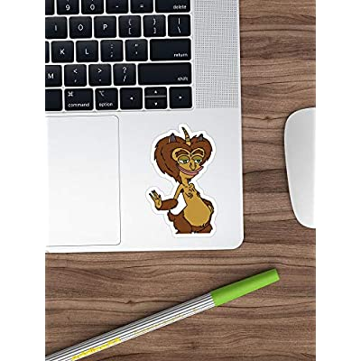 Big Lens store Big Mouth Hormone Monster Stickers (3 Pcs/Pack): Kitchen & Dining