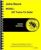 John Deere 24T Baler Parts Manual