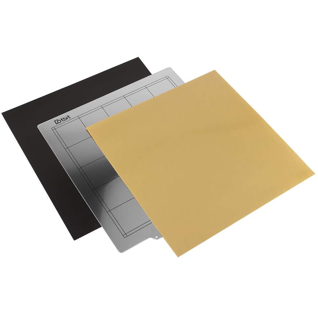 Almencla Plancha de Impresión Placa Base 300x300mm Hoja de Acero ...