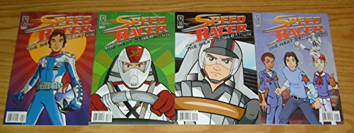 Speed Racer: The Next Generation #1-4 VF complete series ; IDW
