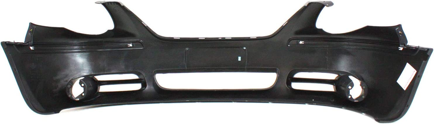 WB with Fog Light Holes Front Bumper Cover Compatible with 2005-2007 Chrysler Town /& Country Primed 119 in