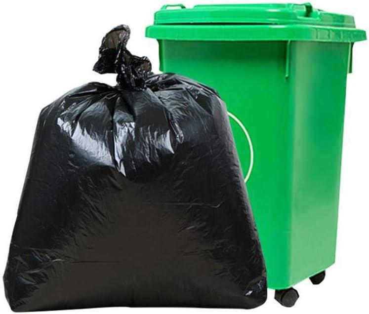 Desconocido 50 Bolsas de Basura de tamaño Grande para jardín, Color Negro, 6: Amazon.es: Hogar