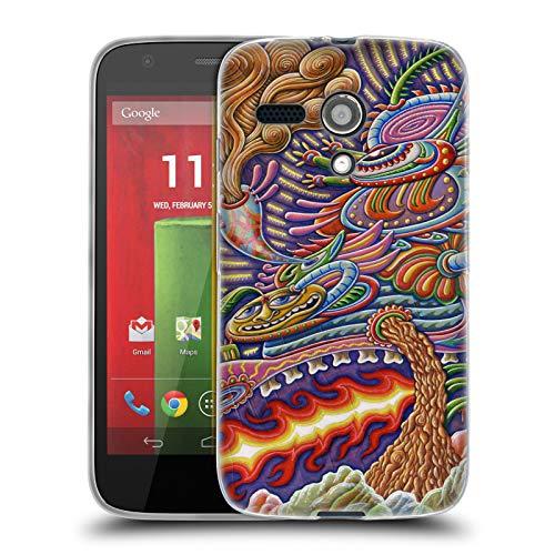 Official Chris Dyer Humanitree Monster Soft Gel Case for Motorola Moto G (1st - Case Monster Moto G