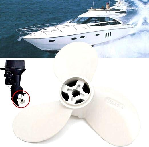 Metal Outboard Propeller 7 1//4X5-A Für Yamaha Marine Boat Motor 2 Stroke 2HP Neu