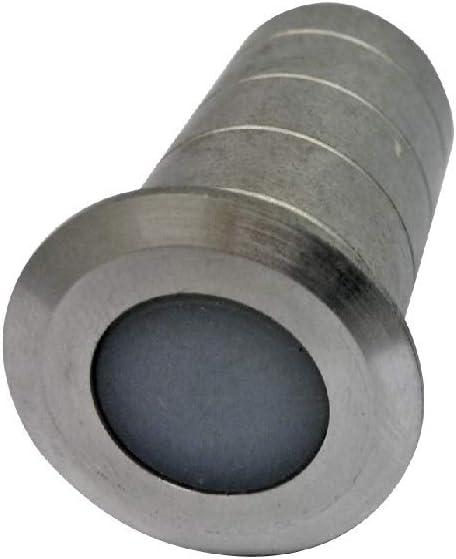 Swiss Sector 11412301 Bodenh/ülse Aluminium