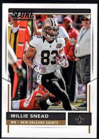 Amazon.com  Football NFL 2017 Score  171 Willie Snead Saints ... 47d281291