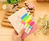 1260 PCS Flags Index Tabs 3 Sytle Colored Neon