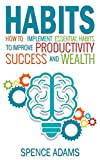 Habits: How to Implement Essential Habits to Improve Productivity, Success, and Wealth (Habit, Good Habits, Productivity, Habit Stacking, Success, Wealth, Mini Habits)