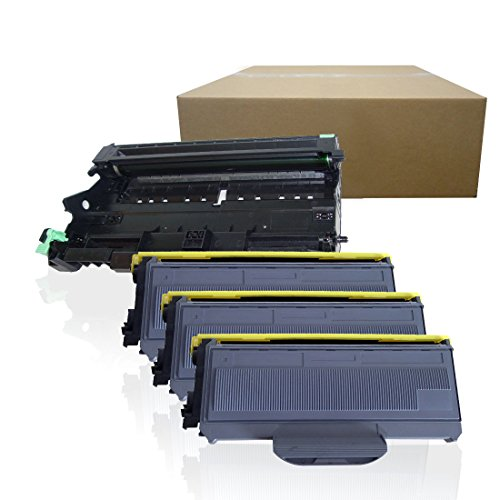 Inktoneram Compatible Toner Cartridges & Drum Replacement for Brother TN360 TN330 DR360 DR-360 TN-360 TN-330 HL-2140 HL-2170W DCP-7030 DCP-7040 MFC-7340 MFC-7345N MFC-7440N MFC7840W - 360 Drum Dr Unit