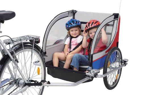 Prophete - Remolque infantil para bicicleta (1 o 2 niños, 20