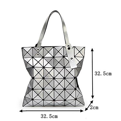 Shoulder Nb274 Folding Female Blue Bag Messenger White Female Bags Light Women Bags Deep Chain Plain Geometry w4xAT4XZ