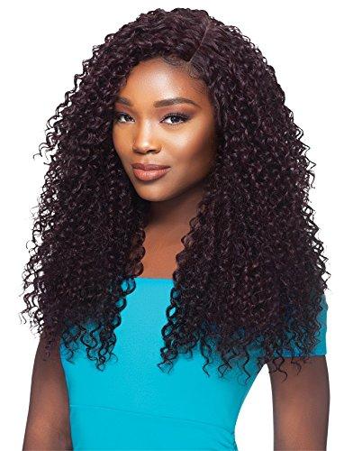 JAMAICAN WATER WAVE 5PCS (1 Jet Black) - Outre Batik Duo Bundle Hair Synthetic Weave Extension ()