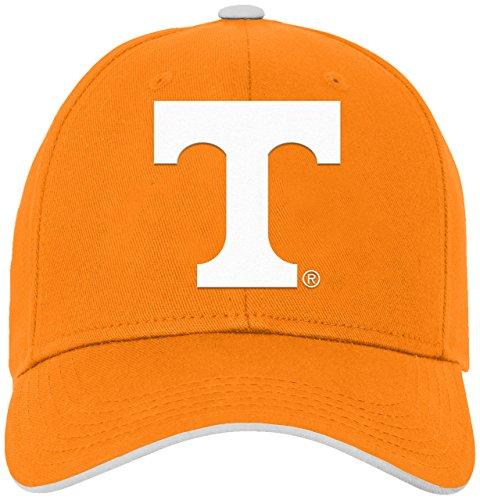 Vols Tennessee Light (NCAA by Outerstuff NCAA Tennessee Volunteers Toddler Basic Structured Adjustable Hat, Light Orange, Toddler One Size)