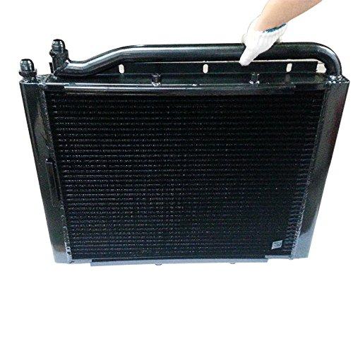 202-03-71210 202-03-71111 Oil Cooler Assy,HYDARULIC FITS Komatsu PC100-6 PC120-6 PC130-6 ()