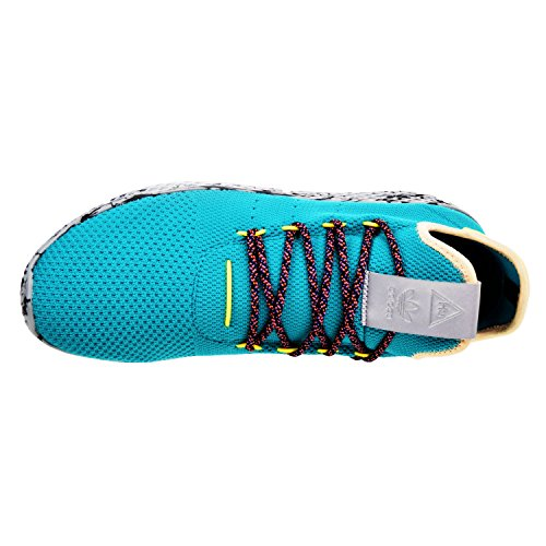 Pw Tennis Hu Mens In Blauwgroen / Paars / Marin / Black Door Adidas, 8,5