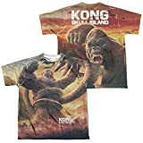 Front/Back Youth - King Kong Skull Island - Mighty Jungle All Over Print T-Shirt offers