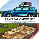 Tchipie 4x6 Ft Bungee Cargo Net for Pickup Truck