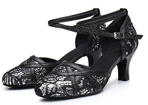 TDA - Sandalias con cuña mujer 6cm Heel Black