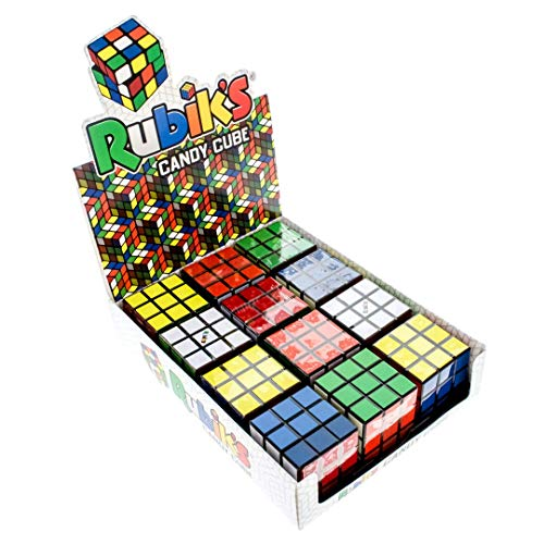Boston America - Rubik's Cube Candy Tin with Candy (12 - Icon Rubiks