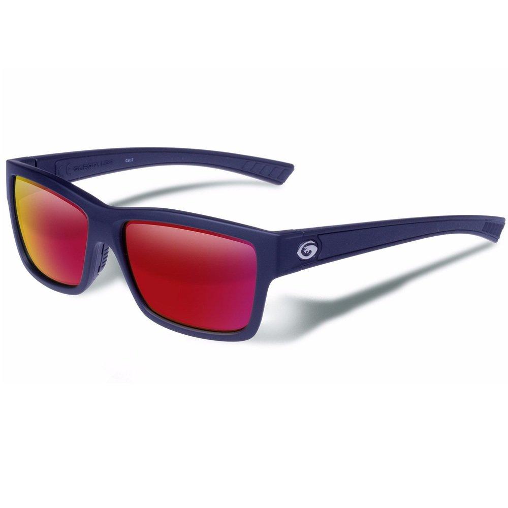 Gargoyles Performance Eyewear Homeland Polarized Glasses, Matte Black Frame/Smoke with Plasma Mirror Lenses