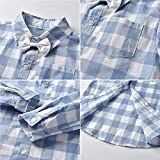 Baby Boy's Tuxedo Clothes, Long Sleeves Plaids