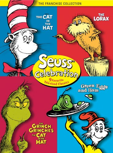 Seuss Celebration (The Grinch Grinches the Cat in the Hat / The Cat in the Hat / Green Eggs and Ham / The Lorax)