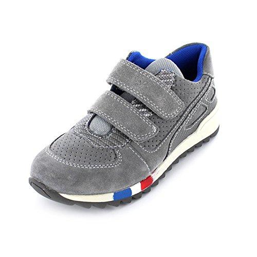 Lurchi Jupp Kinder Sneaker aus Leder/Synthetik in grau 25-grey