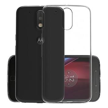Funda Motorola Moto G4/G4 Plus, CANWN Suave Carcasa Gel Moto G4/G4 Plus Ultra Transparente Silicona Funda para Moto G4/G4 Plus