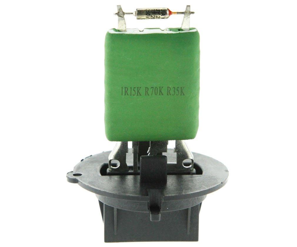 Replacement Part Number 6450JP Heater Motor Blower Fan Resistor for Peugeot 206 307 Citroen C3