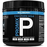 BCAA Powder Amino Acid Energy Branched Chain I Vegan Keto Paleo Instantized Essential Fermented I Non GMO Gluten + Soy Free Form Fasting I 100% Pure Pre Shred Performance Promix Women Wildberry Flavor