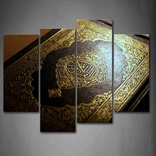 First Wall Art - Islam Book Wall Art Painting The Picture Print On Canvas Religion Pictures For Home Decor Decoration Gift by Firstwallart