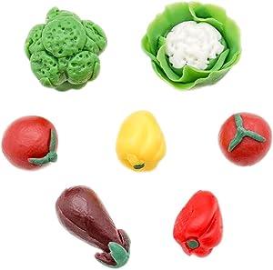Odoria 1:12 Miniature 7pcs Assorted Vegetables Dollhouse Kitchen Accessories