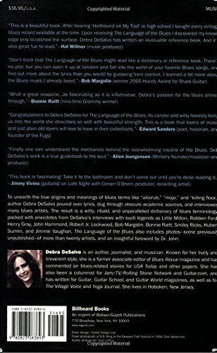 The Language of the Blues: From Alcorub to Zuzu by Brand: Billboard Books